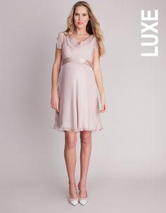 142b869e7487 Silk Drapes, Amazon Dresses, Pure Silk, Flutter Sleeve, Maternity Dresses,  Neckline
