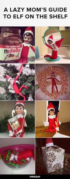 14 Elf on the Shelf Ideas For the Lazy Mom