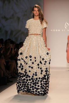 Noon by Noor RTW Spring 2014