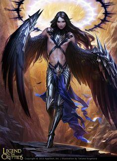 Angel who wants new wings - advanced by kir-tat.deviantart.com on @deviantART
