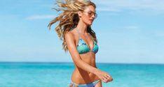 Candice Swanepoel Wallpaper, Body Care, String Bikinis, Health Fitness, Thong Bikini, Swimwear, Icons, Dental Floss, Bathing Suits