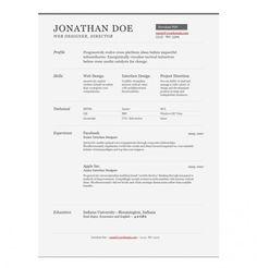 Brendan Stromberger UI designer Resume Pinterest Ui design