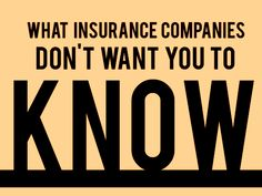 What the insurance companies don't want you to know - http://www.zacharassociates.com/motor-vehicle-accidents/phoenix-accident-lawyer/
