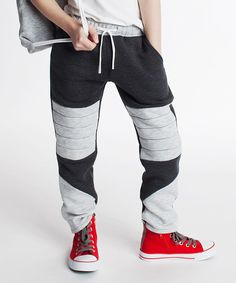 Another great find on #zulily! Dodo Graphite Color Block Pants - Toddler & Boys by Dodo #zulilyfinds