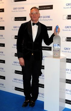 Giles Deacon, veryfirstto.com Luxforecast Connoisseur, at the Grey Goose Winter Ball. Image via Zimbio.