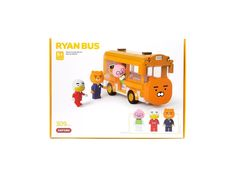 Kakao Friends Bricks Series Special Edition_Oxford Blocks_Ryan Bus_Toy_Korea_New Kakao Friends, Bricks, Korea, Oxford, Toys, Products, Activity Toys, Toy, Oxfords
