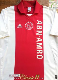 Relive Ajax s 2001 2002 season with this vintage Adidas home football shirt. 484999b9a