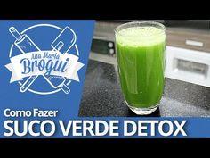 ▶ Ana Maria Brogui #141 - Como fazer Suco Verde Detox - YouTube