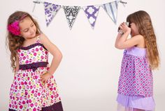 Girl's Spring Easter Purple & Lilac dress by Bubale1 on Etsy, $39.95