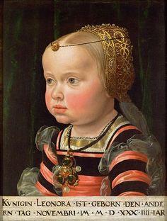 Eleonora of Austria, 1536, Jakob Seisenegger, Vienna