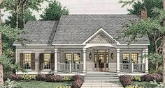Simple Country Living - 62076V | 1st Floor Master Suite, CAD Available, Corner Lot, Country, PDF | Architectural Designs