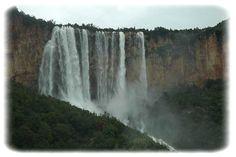 Vista delle cascate Lequarci, Ulassai Waterfall Sardinia