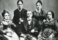 Sophia Whitaker, Mary Ann Whitaker, George Whitaker, Elizabeth Whitaker and Harriet Whitaker (l to r)
