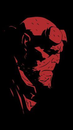 Mike Mignola - Ron Pearlman como Hellboy.