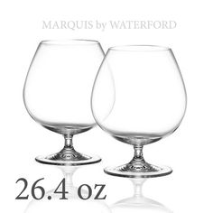 Marquis by #Waterford vintage Tasting Collection crystal Brandy Glass Pair 26.4oz visit our ebay store at  http://stores.ebay.com/esquirestore