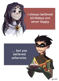 fuckyeah robin / raven : Photo