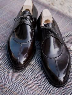Handmade Leather Shoes, Leather Men, Soft Leather, Cowhide Leather, Patent Leather, Black Leather, Leather Tassel, Lace Up Shoes, Dress Shoes