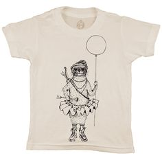 The Brat Pack, Volume III, cool as a cucumber ...the skating Otter. 100% organic natural cotton, kid and earth friendly inks. Made in the