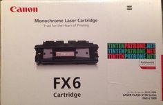 Original Canon 1559A003 / FX-6 Toner Black