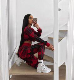 Fashion 2019 New Moda Style - fashion Sporty Outfits, Dope Outfits, Swag Outfits, Trendy Outfits, Girl Outfits, Look Fashion, 90s Fashion, Girl Fashion, Fashion Outfits