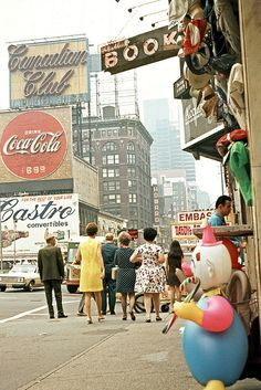 ✈ New York City 1971 - Times Square ✈
