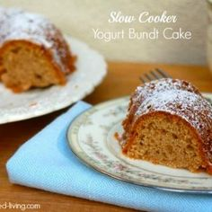 Slow Cooker Yogurt Bundt Cake Recipe - ZipList