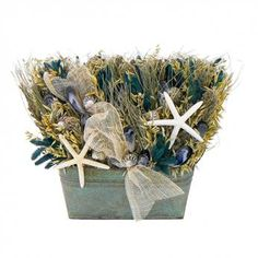 CLASSIC BLUE OCEAN COLLECTION TABLE TOP buy at Garden Gate Wreaths www.gardengatewreaths.com $115.00