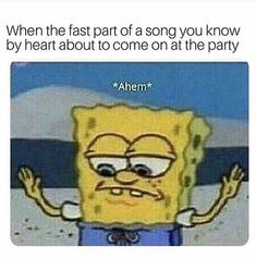 20 Best Funny Photos for Friday Morning. Serving only the best funny photos in 2019 that will help you laugh today. Funny Spongebob Memes, Funny Relatable Memes, Funny Posts, Funny Quotes, Funny Shit, The Funny, Funny Stuff, Funny Drunk, Band Nerd