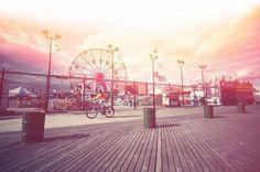 Fairground, blur, ride