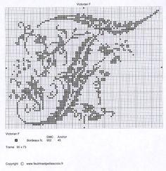 un solo color Monogram Cross Stitch, Cross Stitch Alphabet, Cross Stitch Designs, Stitch Patterns, Monogram Alphabet, Beyond Words, Alpha Patterns, Album, Filet Crochet
