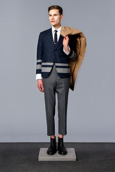 #Menswear #Trends THOM BROWNE Fall Winter 2014 Otoño Invierno #Tendencias #Moda Hombre