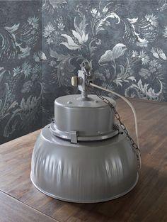 lampa wisząca przemysłowa loft (stara) - Manilove - Lampy sufitowe