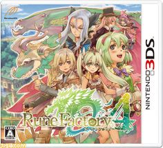 Rune Factory 4 - seriously obsessed with this game right now.