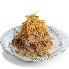 Need a last minute Thanksgiving dish? Try this Russian classic – Beef Stroganoff! #AnnaKarenina