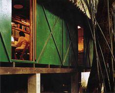 Lina Bo Bardi's amazing office and studio, São Paulo 1986