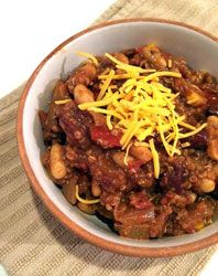 Loaded Quinoa & Bean Chili