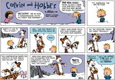 Calvin and Hobbes Comic Strip, February 14, 2016 on GoComics.com LOVE OR COOTIES!