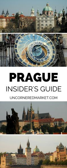 A insider's guide to exploring Prague. Tips for avoiding the tourist traps and experiencing a side of the city that the local's love. Best things to do, what to see + favorite restaurants and pubs.   Uncornered Market Travel Blog #Prague #Travel #CzechRepublic #europe