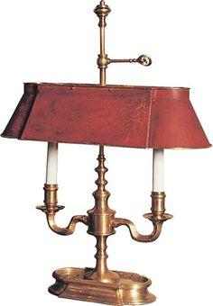 Small Bouillotte lamp 24Hx17.5W