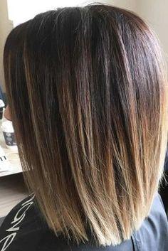 Nouvelle Tendance Coiffures Pour Femme 2017 / 2018 Coiffures populaires de longueur moyenne pour ceux qui ont des cheveux longs et épais Voir mor