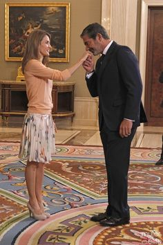 MYROYALS &HOLLYWOOD FASHİON: Princess Letizia Attend Audiences at Zarzuela Palace