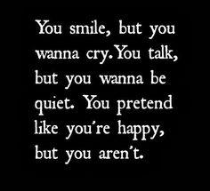 Depression Hurts | Depressing Quotes | DepressingQuotesz.blogspot.com