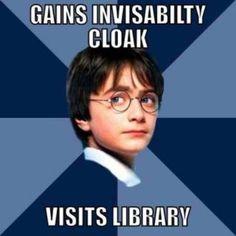 Visits library. atta boy!!