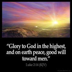 Luke 2:14 KJV