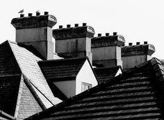 Chimneys by Felikss Veilands on Ireland, Louvre, Drawings, Pictures, Photography, Travel, Photos, Photograph, Viajes