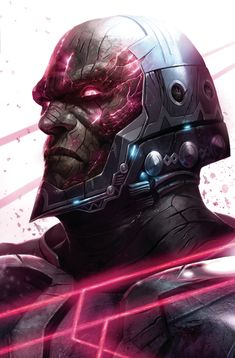 Darkseid Art by Francesco Mattina Arte Dc Comics, Dc Comics Superheroes, Comic Books Art, Comic Art, Book Art, Manga Anime, Comic Villains, New Gods, Dc Universe