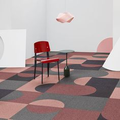 A New Concept In Carpet Tile Shaw Contract From Us & ein neues konzept im teppic… – shaw carpet Carpet Diy, Pink Carpet, Wall Carpet, Modern Carpet, Bedroom Carpet, Carpet Colors, Living Room Carpet, Rugs On Carpet, Carpet Ideas
