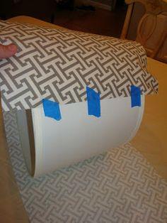 Elegant Nest: Fabric Covered Lamp Shades