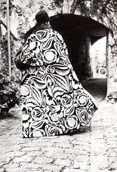 Raoul Dufy textile design on velvet for Paul Poiret cape 1911