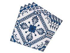 Tecido Adesivo 20x20 Azulejo